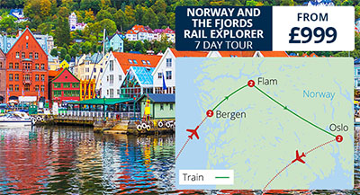Norway & The Fjords Rail Explorer